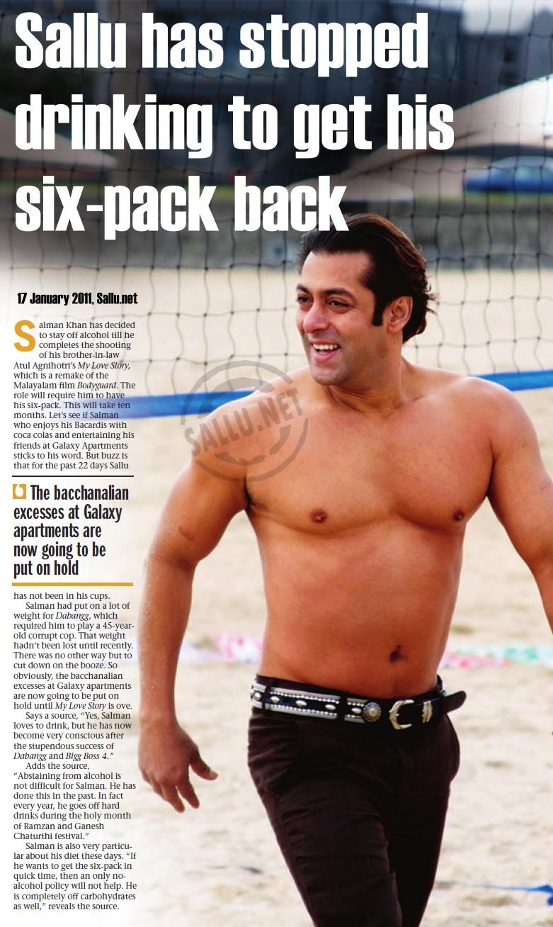 Bollywood dabang salman khan pictures salman khan - Six pack wallpaper ...