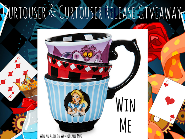 Win an Alice in Wonderland Stacked Teacups Mug