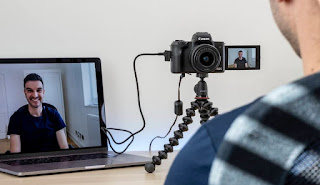 Cara Mudah Menggunakan Kamera sebagai Webcam