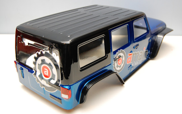 How to custom paint RC truck bodies