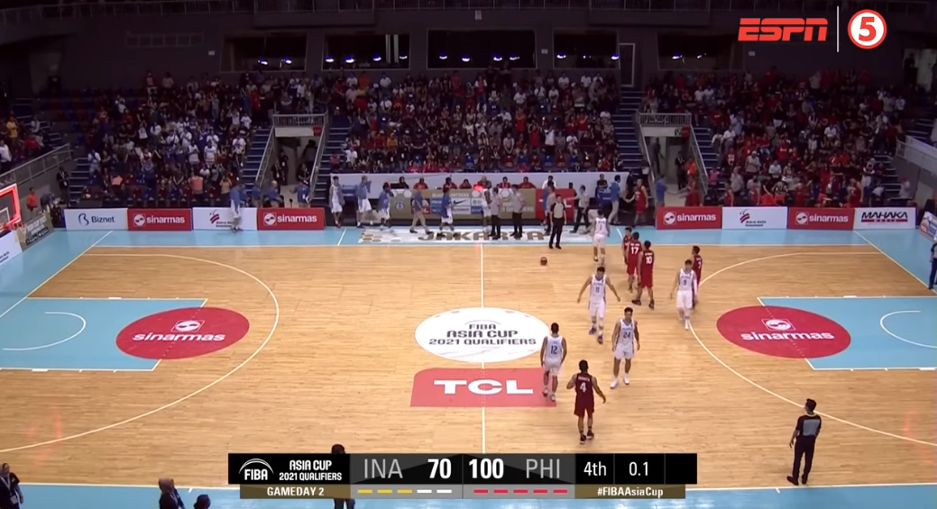 Gilas Pilipinas vs. Indonesia (HIGHLIGHTS) 2021 FIBA Asia Cup Qualifiers | 1st Window