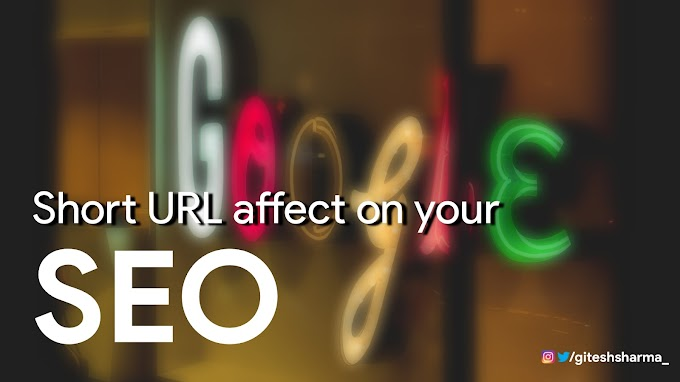 Don't short your domain, website and blog URL, is not better for your seo and website ranking