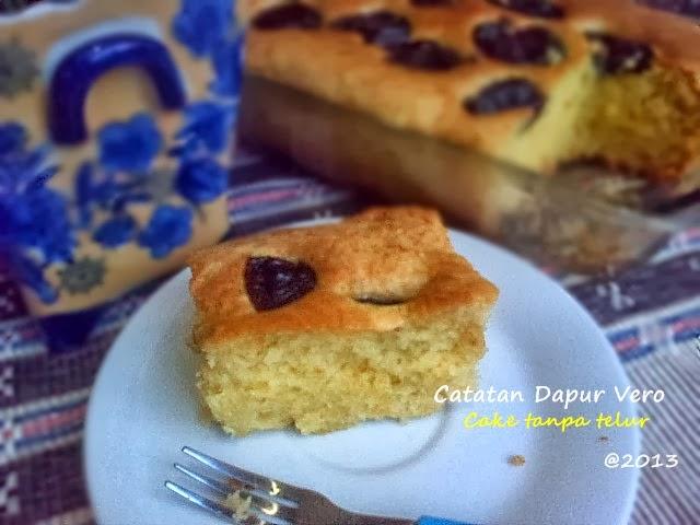 Resep Cake Tanpa Telur Jtt: Catatan Dapur Vero: CAKE TANPA TELUR