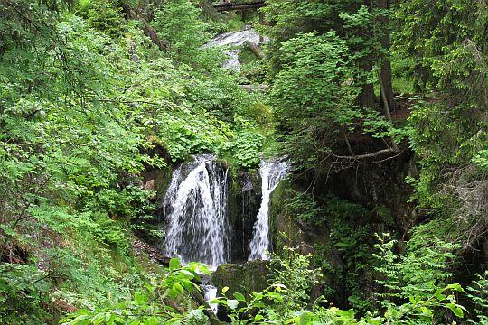 Vodopády Bílé Opavy.