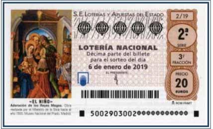 Lotería del niño, domingo 6 de enero de 2019 👼