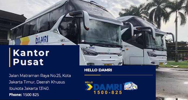 Jadwal Damri Serang Bandara - Soekarno Hatta ke Serang