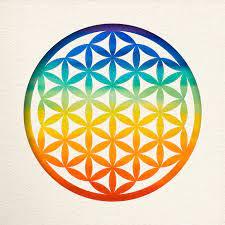 Flor da Vida: Geometria Sagrada da Criação.