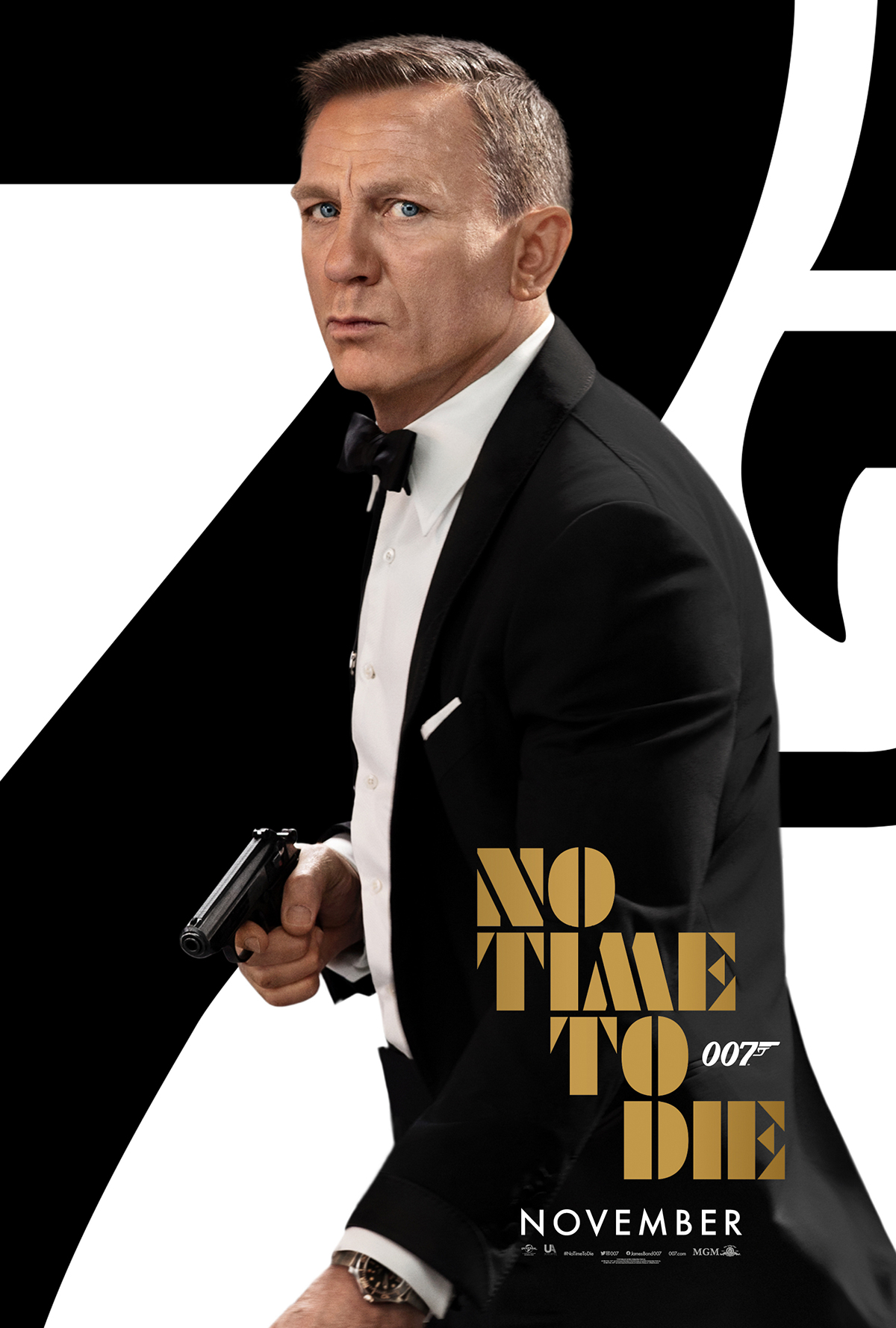 NO TIME TO DIE POSTER (#2 OF 12) - OKAY BHARGAV