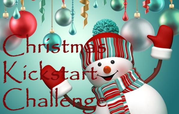 The Christmas Bunny.Christmas Kickstart Challenge The Christmas Kickstart