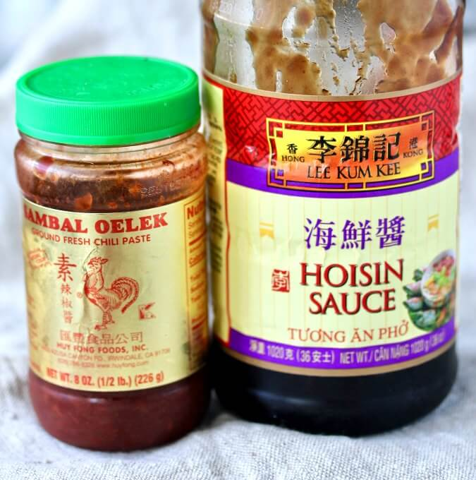Asian-Style Sloppy Joe sauces