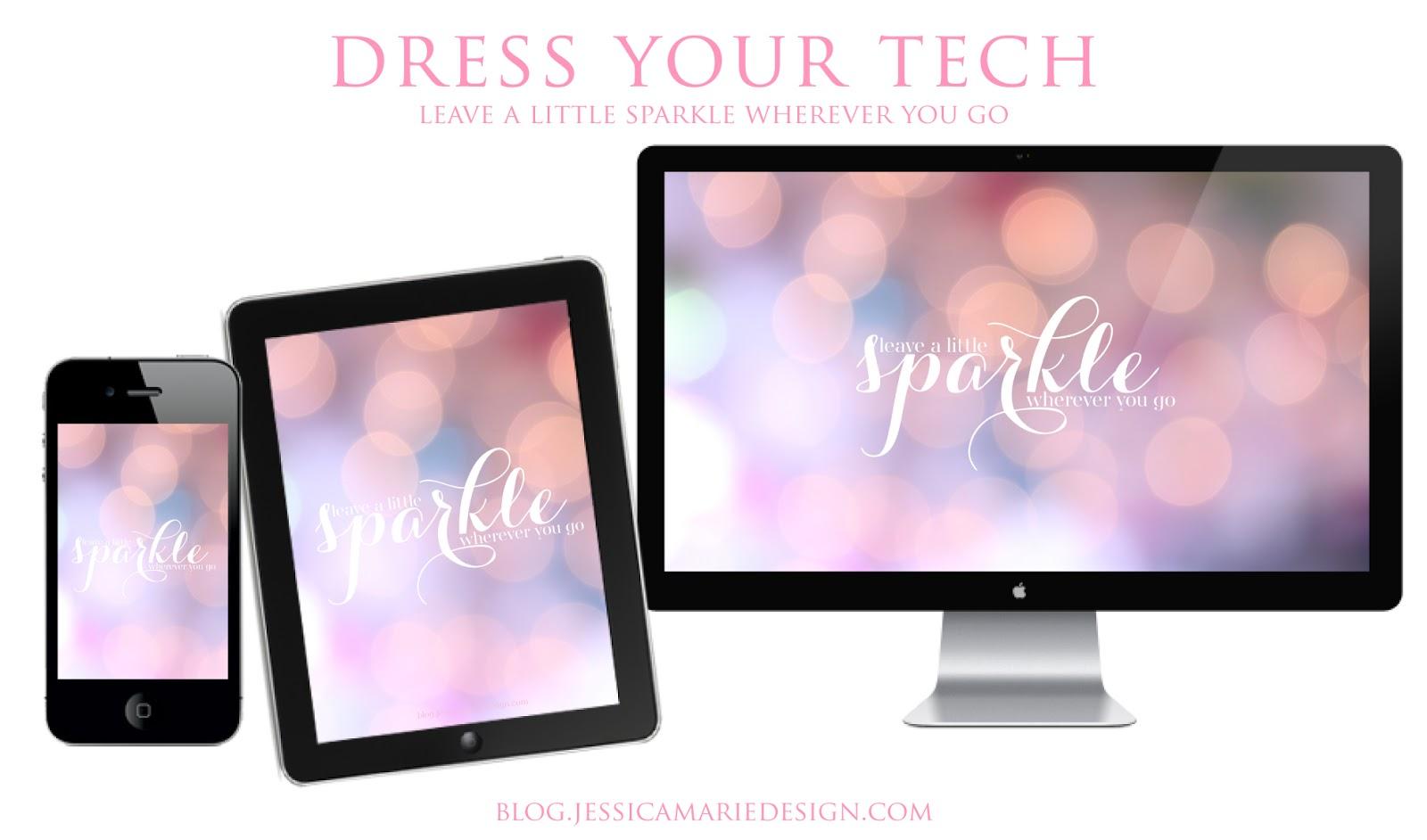 Jessica Marie Design Blog: Dress your Tech: Leave a little sparkle ...