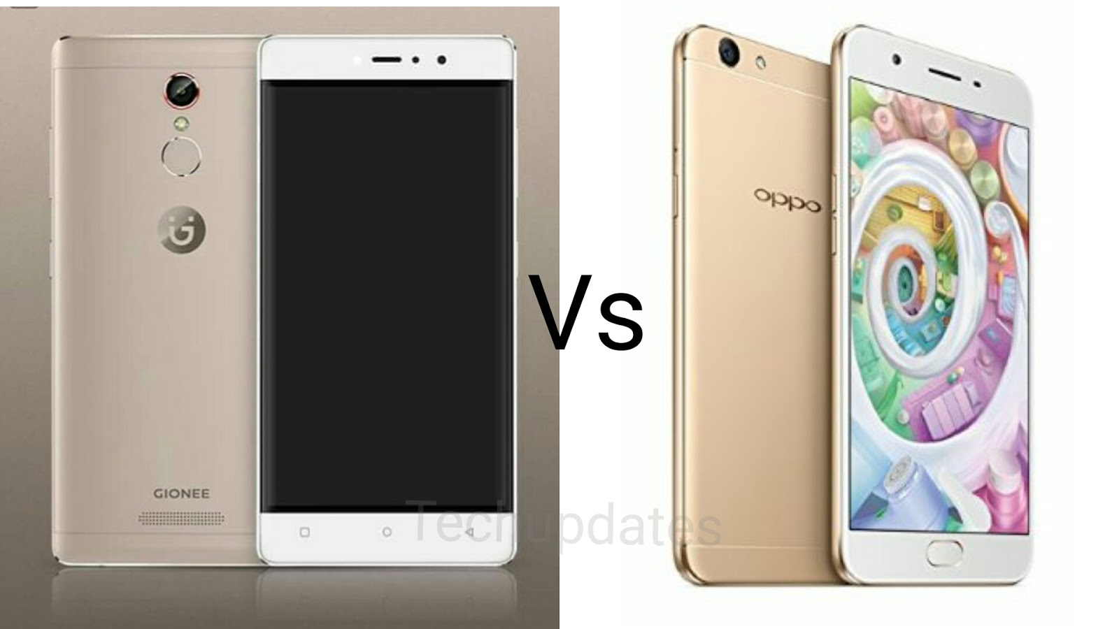 Image result for Comparison Gionee S6s Vs OPPO F1s