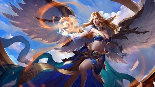 """Nữ thần Lauriel quả là tài sắc vẹn toàn, đến năng lực hút máu của nữ tướng này cũng khiến cho kẻ địch cần """"xanh mặt"""""""