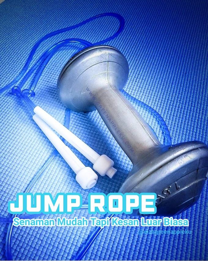 Jump Rope, Lompat Tali adalah senaman hebat!