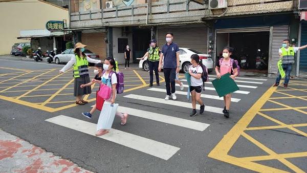 開學日彰警護童不鬆懈 讓師生安心、家長放心
