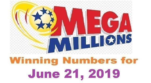 Mega Millions Winning Numbers for Friday, June 21, 2019