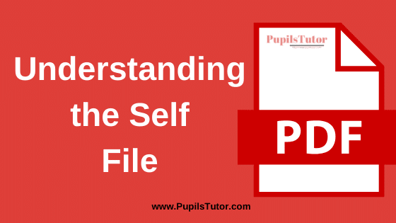 Understanding The Self and Identity B.Ed Practical File, Project and Assignment in English Language for 1st and 2nd Year / All Semester Free Download PDF   Understanding The Self File for B.Ed   Understanding The Self Assignment in English Medium   Understanding The Self Project Report