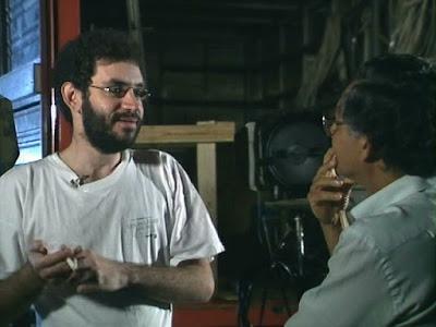 Renato Russo em entrevista ao diretor Vladimir Carvalho - Divulgação