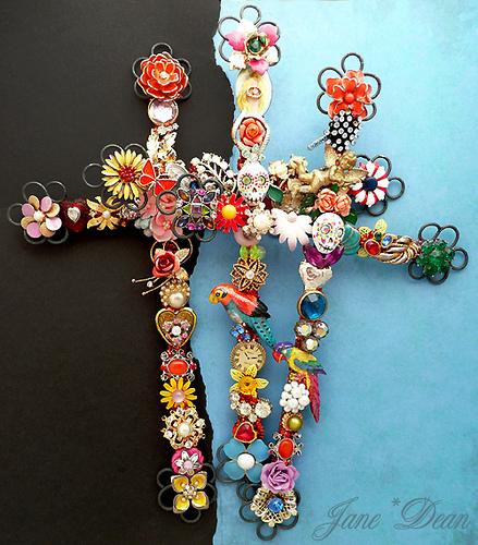 krzyzyki kwiatowe