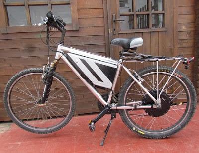 Bicicleta eléctrica de segunda mano