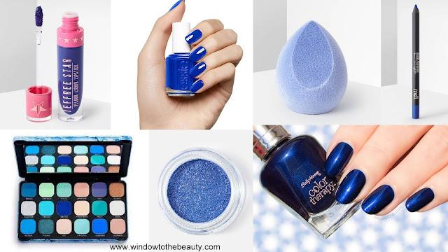 Classic Blue cosmetics