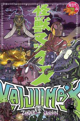 Kaijumax Livre II de Zander Cannon aux éditions Bliss Comics