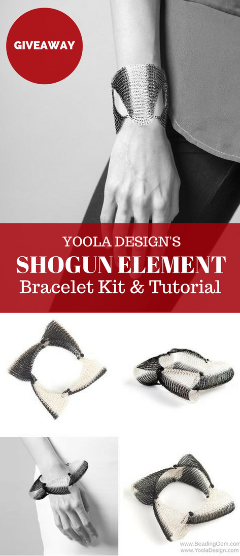 Yoola Design\'s Shogun Element Wire Bracelet Kit and Tutorial ...