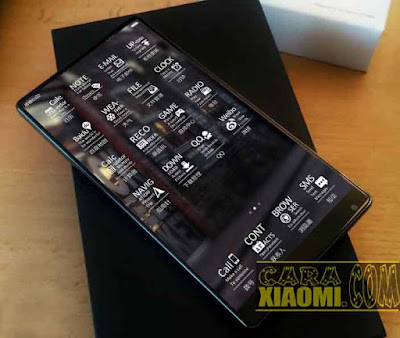 Tema MIUI Max Mii Mtz Futuristic Theme For Xiaomi