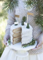 Layer cake blanc comme neige