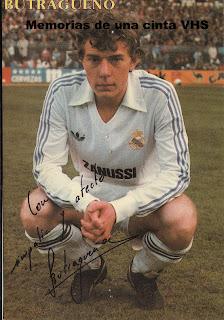 Butragueño, Real Madrid, Adidas, Zanussi