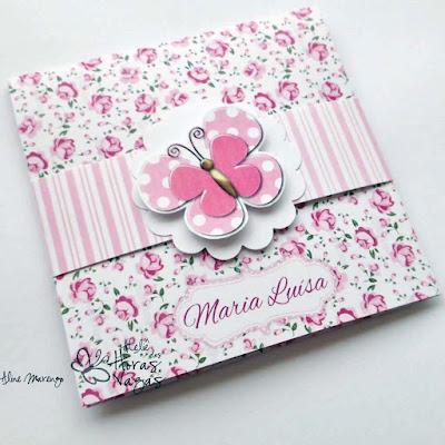 convite aniversário infantil floral provençal delicado borboletas jardim encantado menina rosa bebê