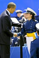 Obama at the Air Force Academy Graduation Ceremony