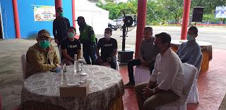 Walikota Jambi Minta Kepada Ojol Untuk Melayani Masyarakat Belanja Online Kebutuhan Pokok Sehari-hari.