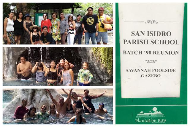 San Isidro Parish School Batch 1990 Reunion at Plantation Bay Resort and Spa