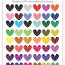 Coração de Pedra em PNG - 48 cores grátis