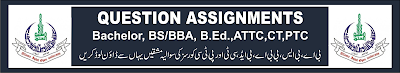 aiou-question-assignments--bachelor-ba-b.com-b.ed-attc-ct-ptc