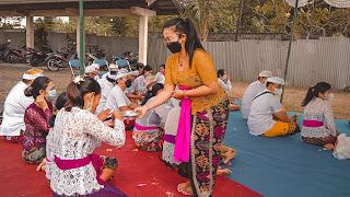 Piodalan SMK TI Bali Global Badung