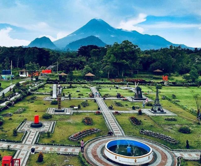 Merapi Park Yogyakarta Hadirkan Replika Landmark Terkenal di Dunia