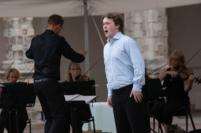 Opera Holland Park - Jack Robert, Matthew Kofi Waldren, City of London Sinfonia(Photo Ali Wright)