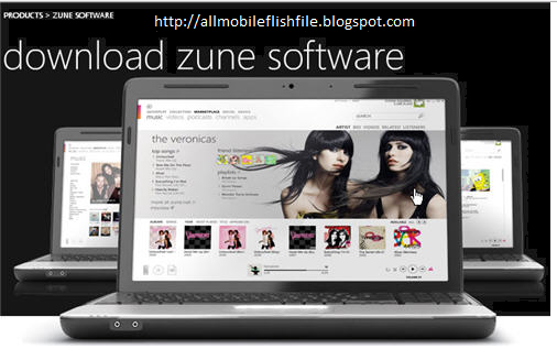 Zune Software Latest Version v4.8 Full Setup Free Download For Nokia Lumia Windows Phones