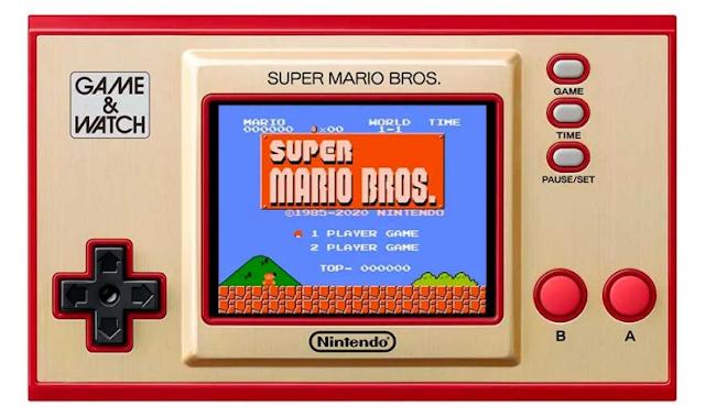 Game & Watch Super Mario Bros. 2020