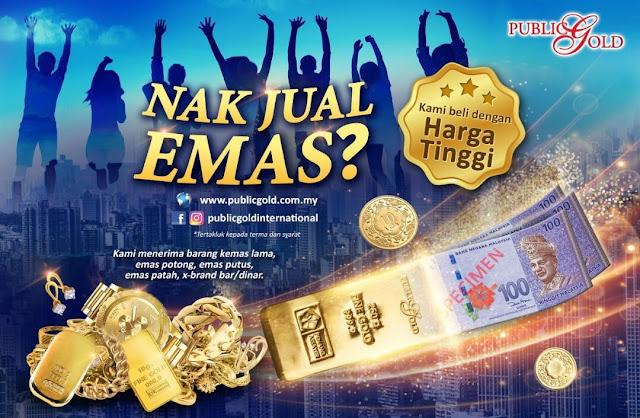 Iklan Jual Balik Emas Ke Public Gold