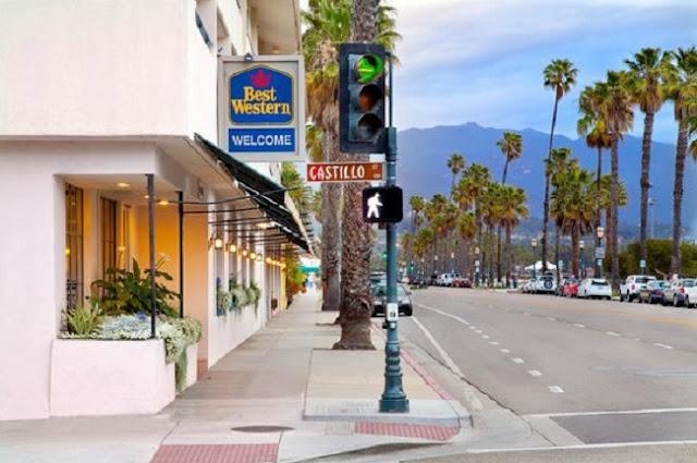 Hotel Western Beachside Inn em Santa Bárbara