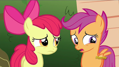 Scootaloo knows what it's like to want something you can't have