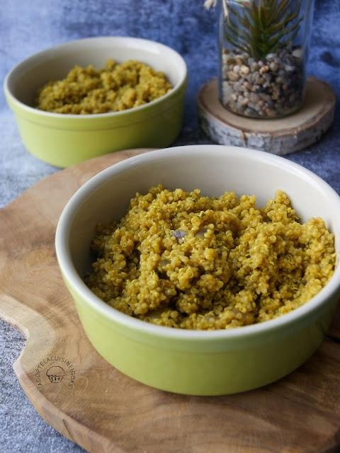 Taboulé de quinoa - Recette Cookeo  - Recette facile - Recette rapide - IG bas