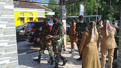 Kolonel Cpm Bambang Guritno Pimpin Tim Wasev Di TMMD Kodim Pati