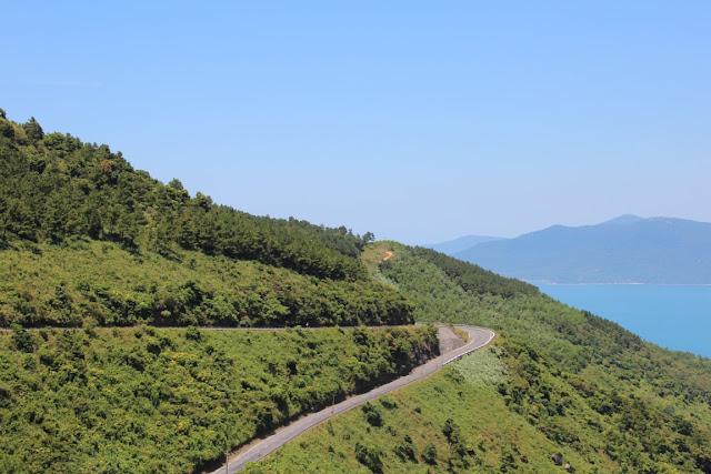 Serpentinen Wolkenpass Vietnam