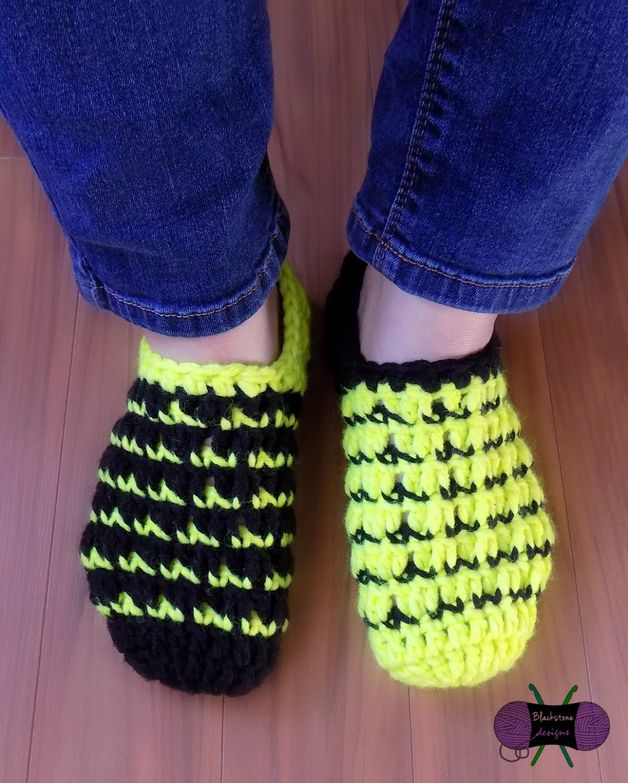 Crochet Slipper Drive  Mod Mismatch Slippers