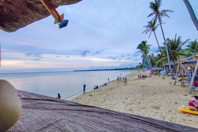 Calilayan Cove Hidden Beach in Quezon Province
