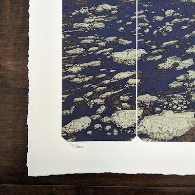 Pearl Jam Gigaton Screen Print by Krzysztof Domaradzki